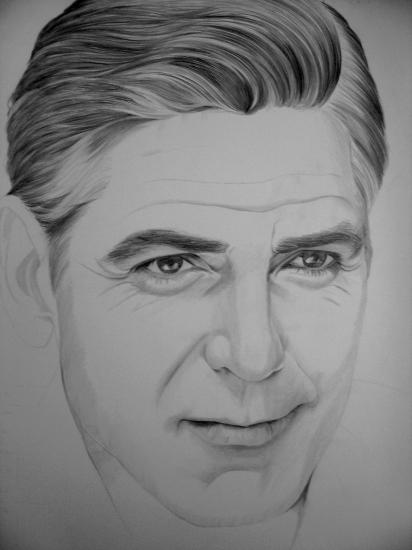 George Clooney par Muriel.b